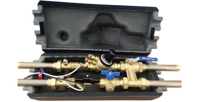 Evinox Energy Chilled Water meter Kit